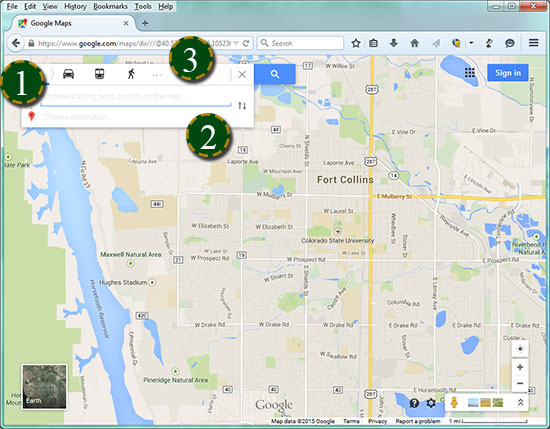Google Colorado Map.Bicycle Google Maps Parking Transportation Services Colorado