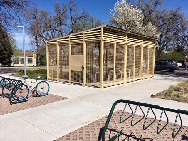 Secure Bike Shelters : Secure bicycle parking transportation services