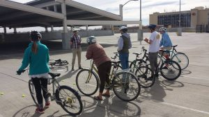 Smart Cycling class at CSU in Spring 2017