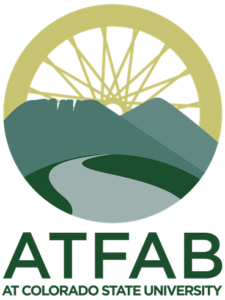 logo for ATFAB (Alternative Transportation Fee Advisory Board) at Colorado State University